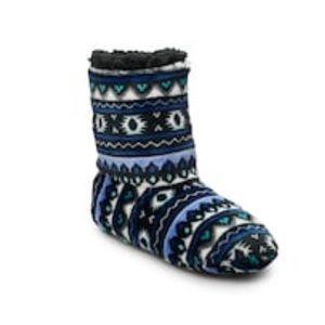 Cuddl Duds Bootie Slipper Socks